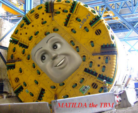 Matilda The TBM